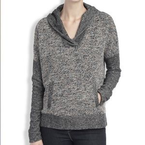 Lucky Lotus Brand Gray color black hoodie 3606